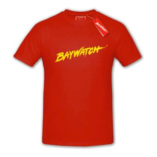 LICENSED BAYWATCH ® RED T-SHIRT